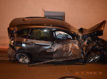 Nehoda, Bôrik, auto, tunel