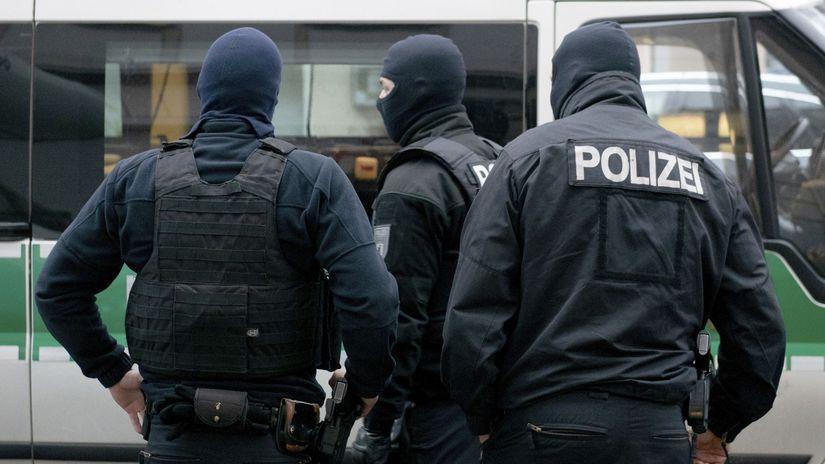 Polícia, Nemecko, kukláči