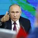 Vadimír Putin, Rusko