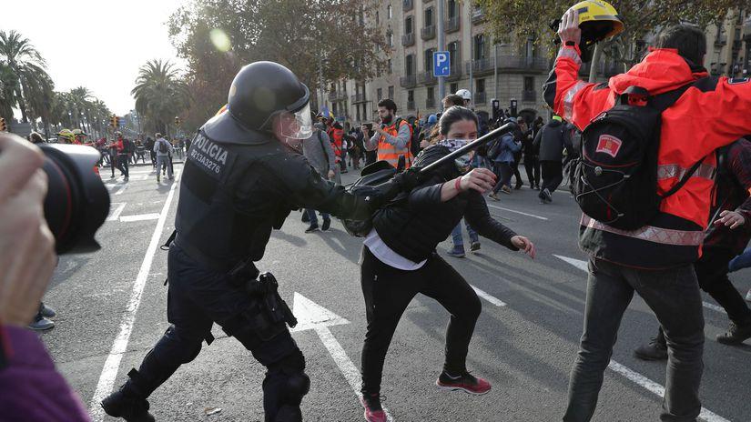 katalánsko, protest
