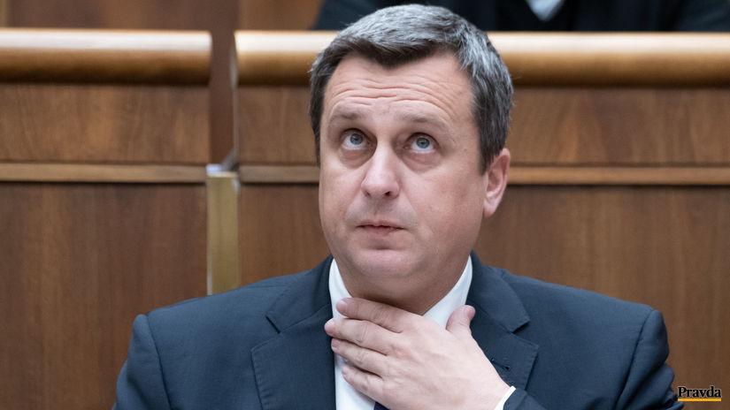 parlament, Andrej Danko, SNS