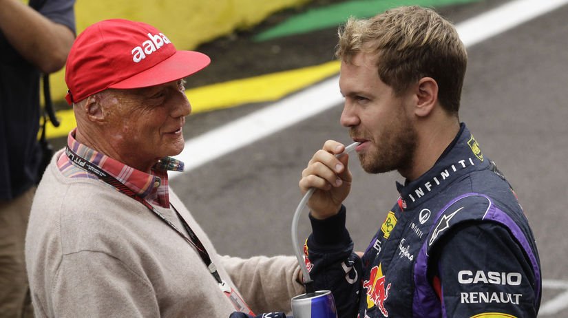 Niki Lauda, Sebastian Vettel