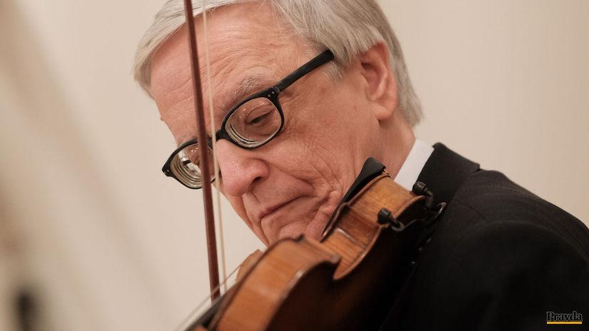 Peter Michalica huslista
