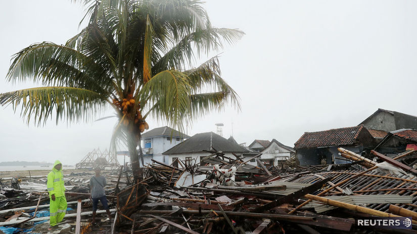 Indonézia, cunami, Sumur