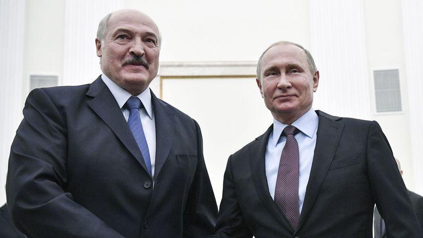 Putin, Lukašenko,