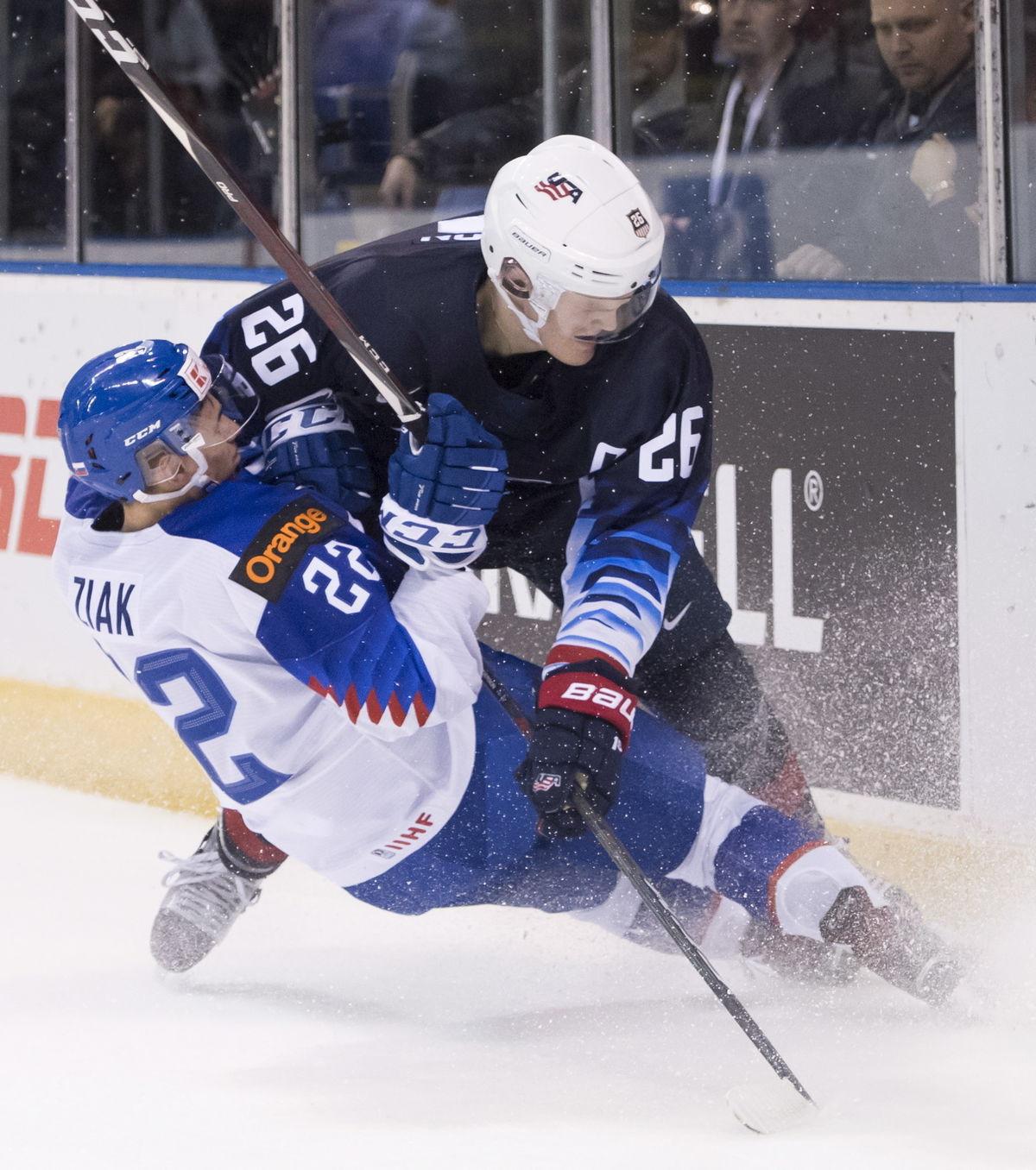 2ff009a17d5fc Slováci podali skvelý výkon, ale na USA to nestačilo. Prehrali o gól ...