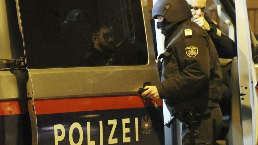 Rakúsko Viedeň kostol incident polizei polícia