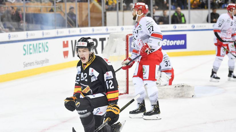 Švajčiarsko Hokej turnaj Spenglerov pohár...