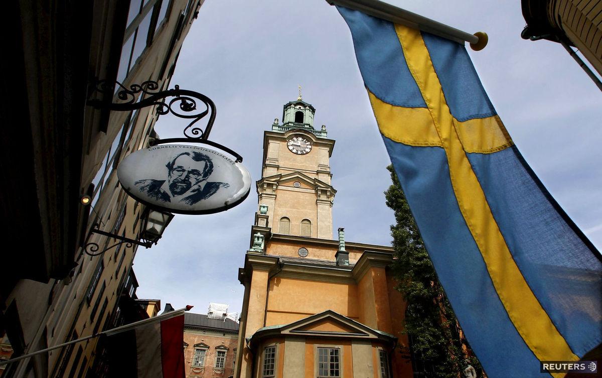 Švédsko, Štokholm, vlajka
