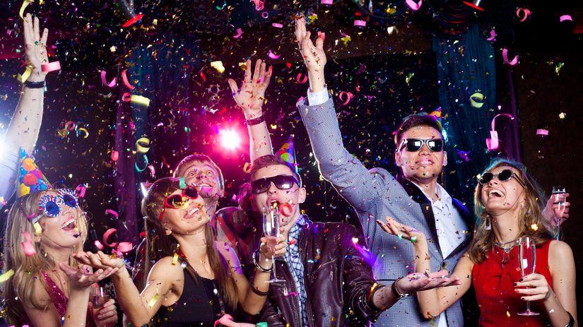 oslava, radosť, silvester, nový rok, alkohol,...