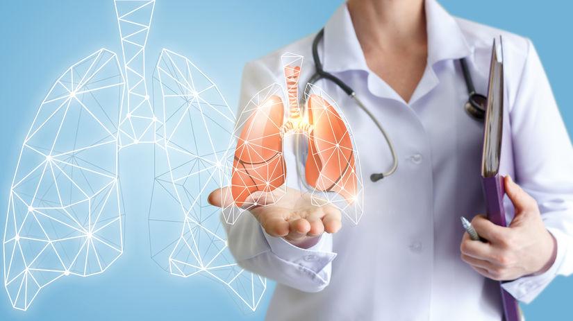 pľúca, lekárka, diagnóza, rakovina pľúc, chochp