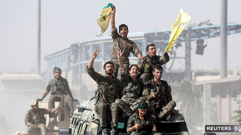 rakka, milície, sýria