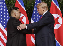 USA Trump  Kim Čong-un Singapur summit