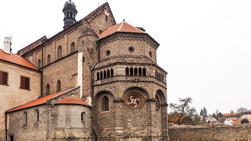 bazilika sv. Prokopa, Trebíč, Třebíč, česko,...