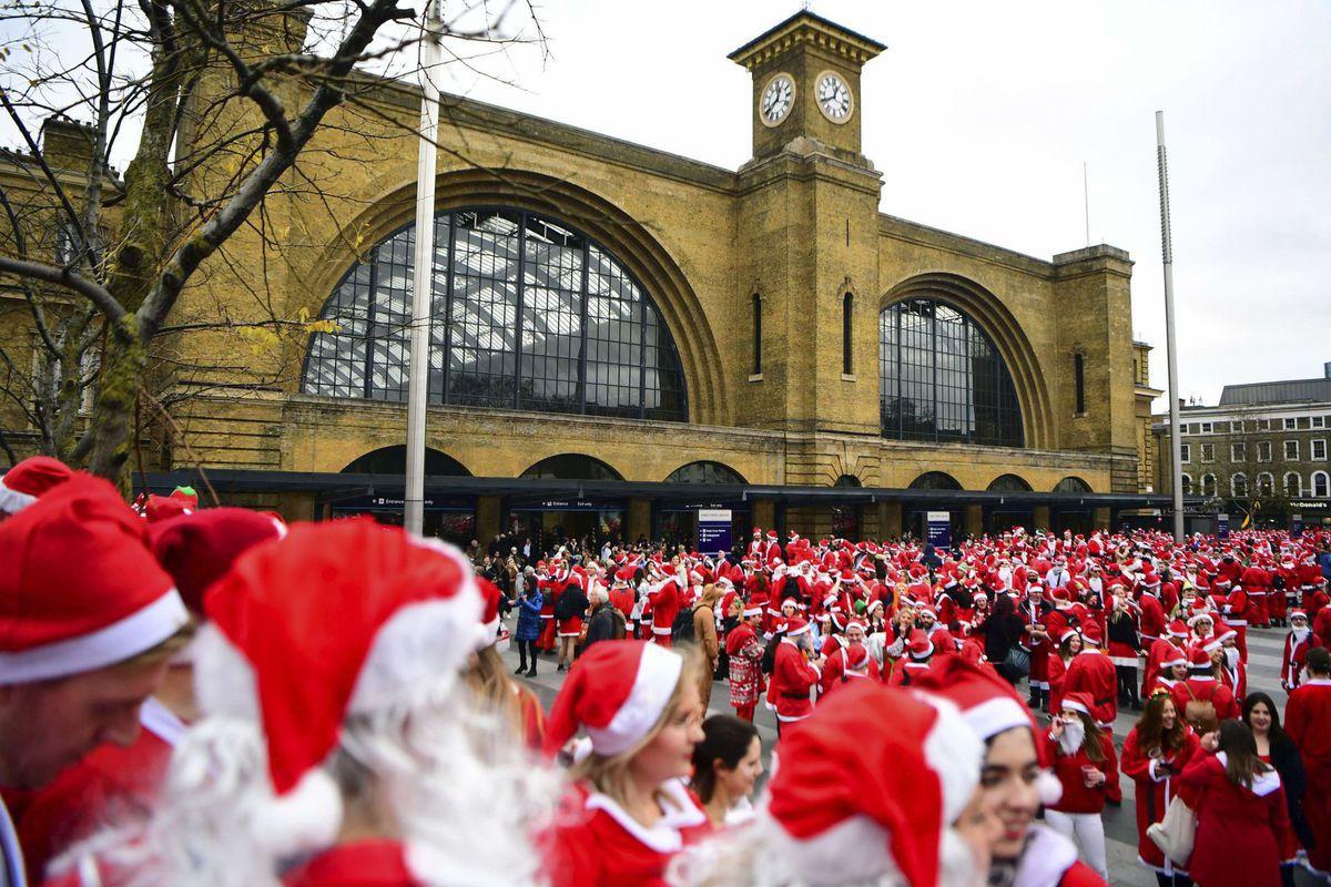 Británia, Santa Claus, Vianoce