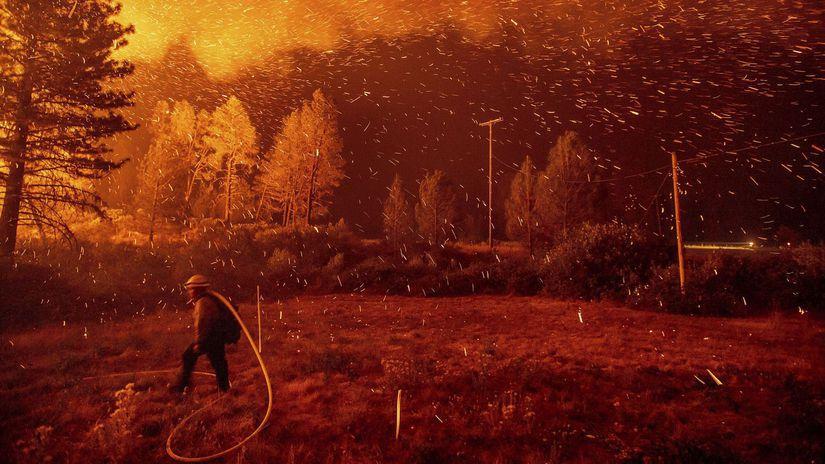 California, Kalifornia, ohne, oheň, požiare,...
