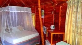 chatka, posteľ, Kirinda, Srí Lanka, moskytiéra