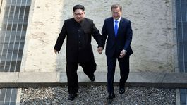 Kórea, summit, Kim Čong-un, Mun Če-in