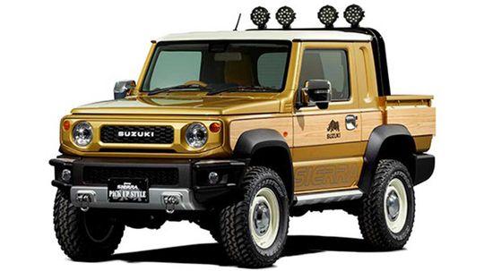 Suzuki Jimny Sierra Pickup Style: Koncept s retro prvkami sa ukáže v Tokiu