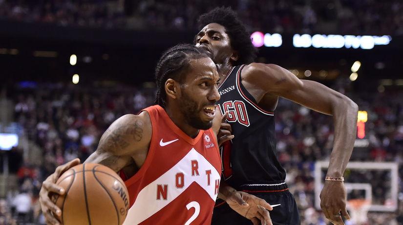 Bulls Raptors Basketball NBA
