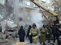 Rusko Magnitogorsk plyn výbuch dom zrútenie obete