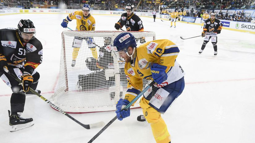 Switzerland Spengler Cup hokej