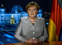Nemecko Merkelová prejav novoročný