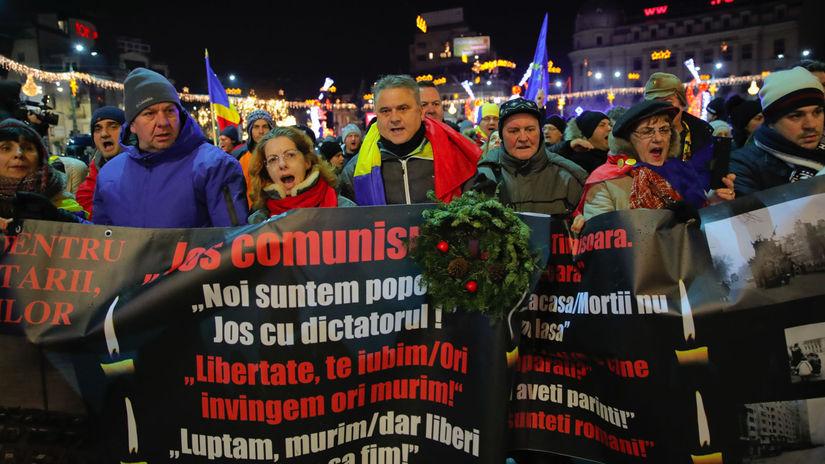 rumunsko, Protest