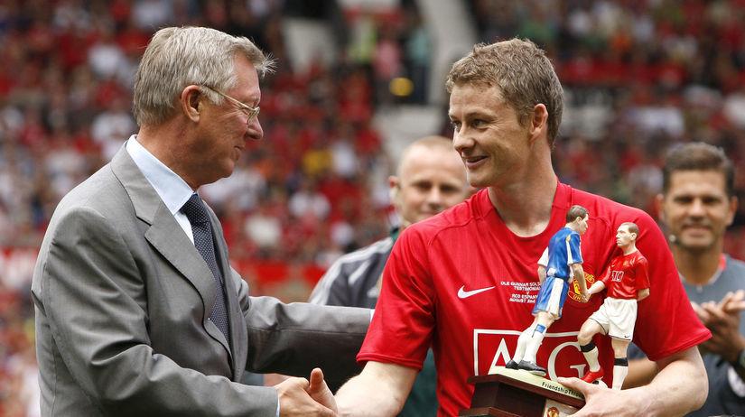 Soccer Man United Solskjaer Ferguson