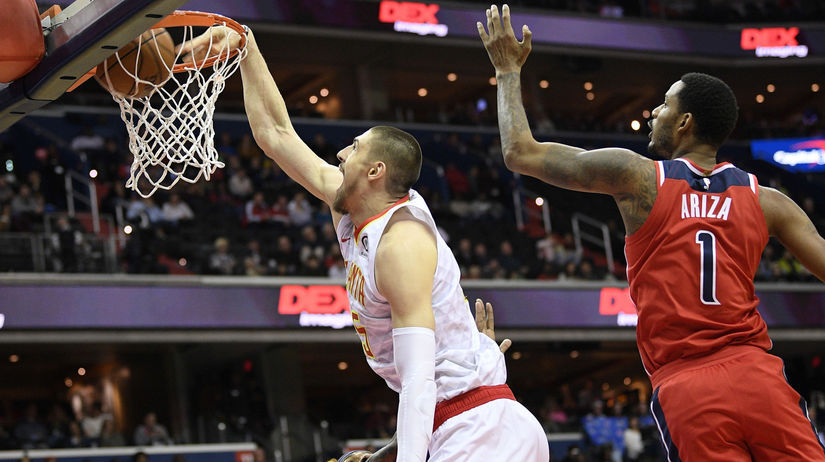 Hawks Wizards Basketball NBA