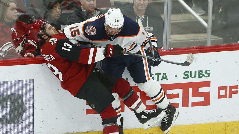 Oilers Coyotes Hockey NHL