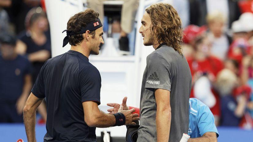 Roger Federer, Stefanos Tsitsipas