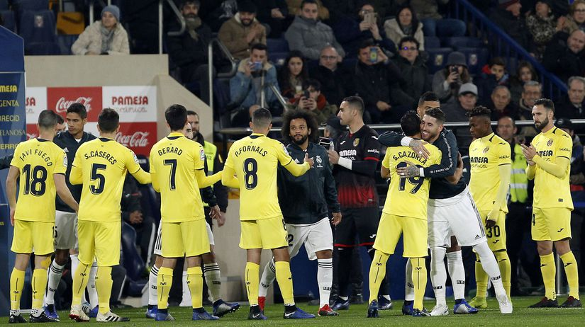 Villarreal, Real Madrid