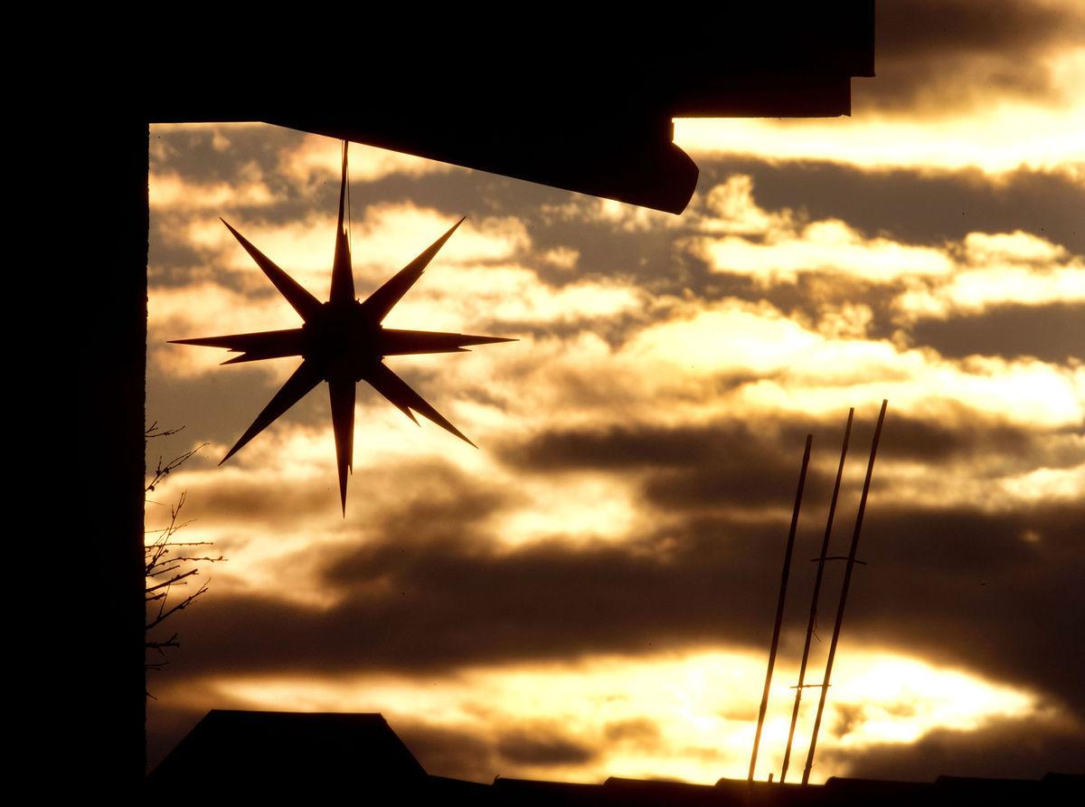 hviezda, Vianoce, Frankfurt