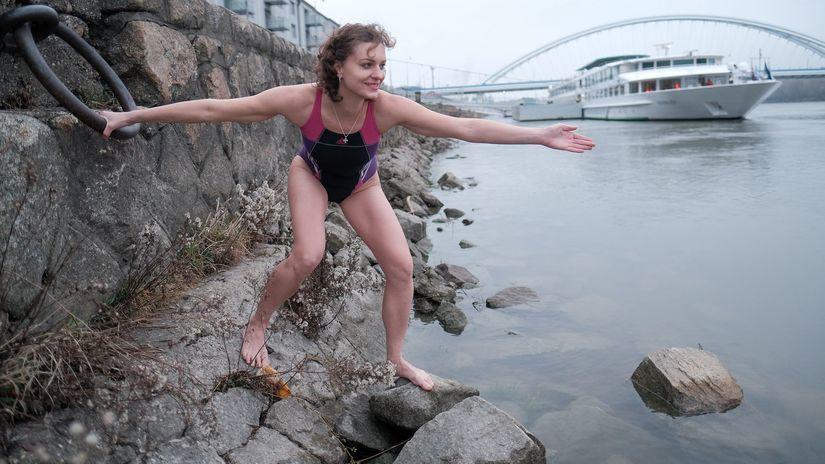 Ingrid Nechalová, plávanie, La Manche