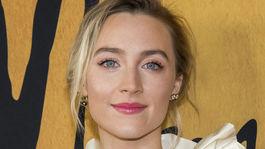 Saoirse Ronan - rúže na perách podľa Hollywoodu