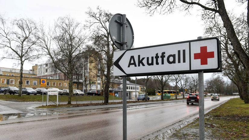 Švédsko Ebola nemocnica