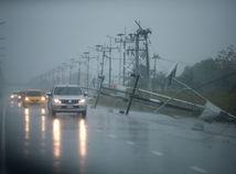 Thajsko, tropická búrka pabuk, vedenie, auto, dážď