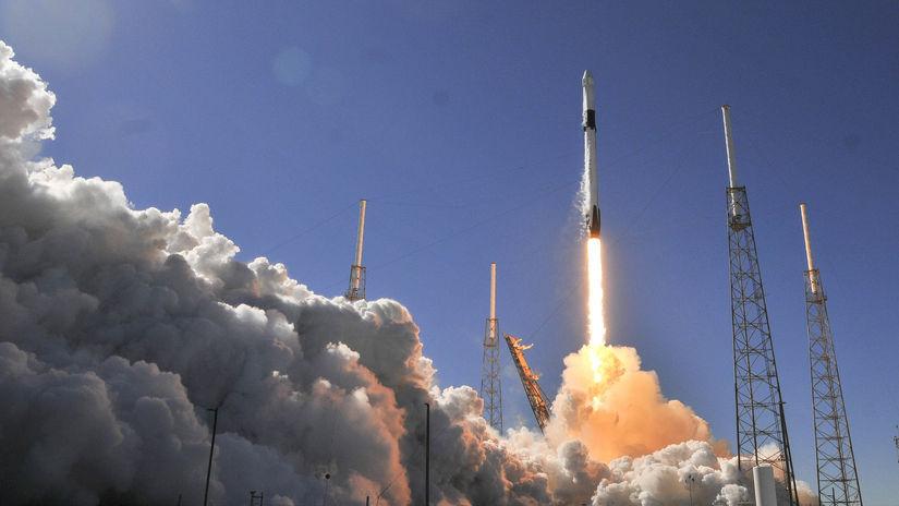USA SpaceX Falcon 9 ISS náklad štart