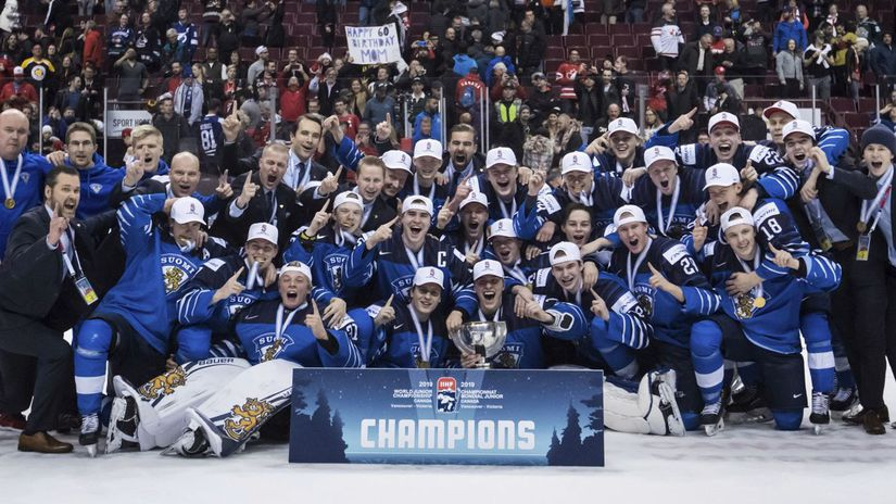 World Juniors Hokej Fínsko