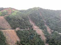 zosuv pôdy, zosuv, filipíny
