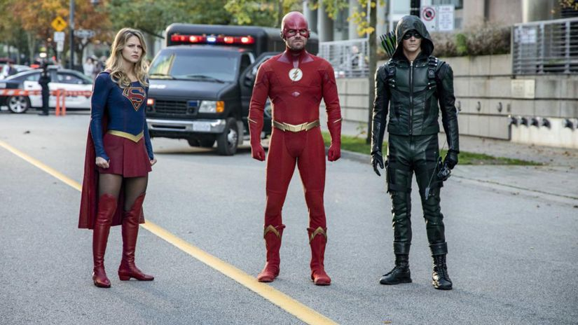 arrow, the flash, supergirl,