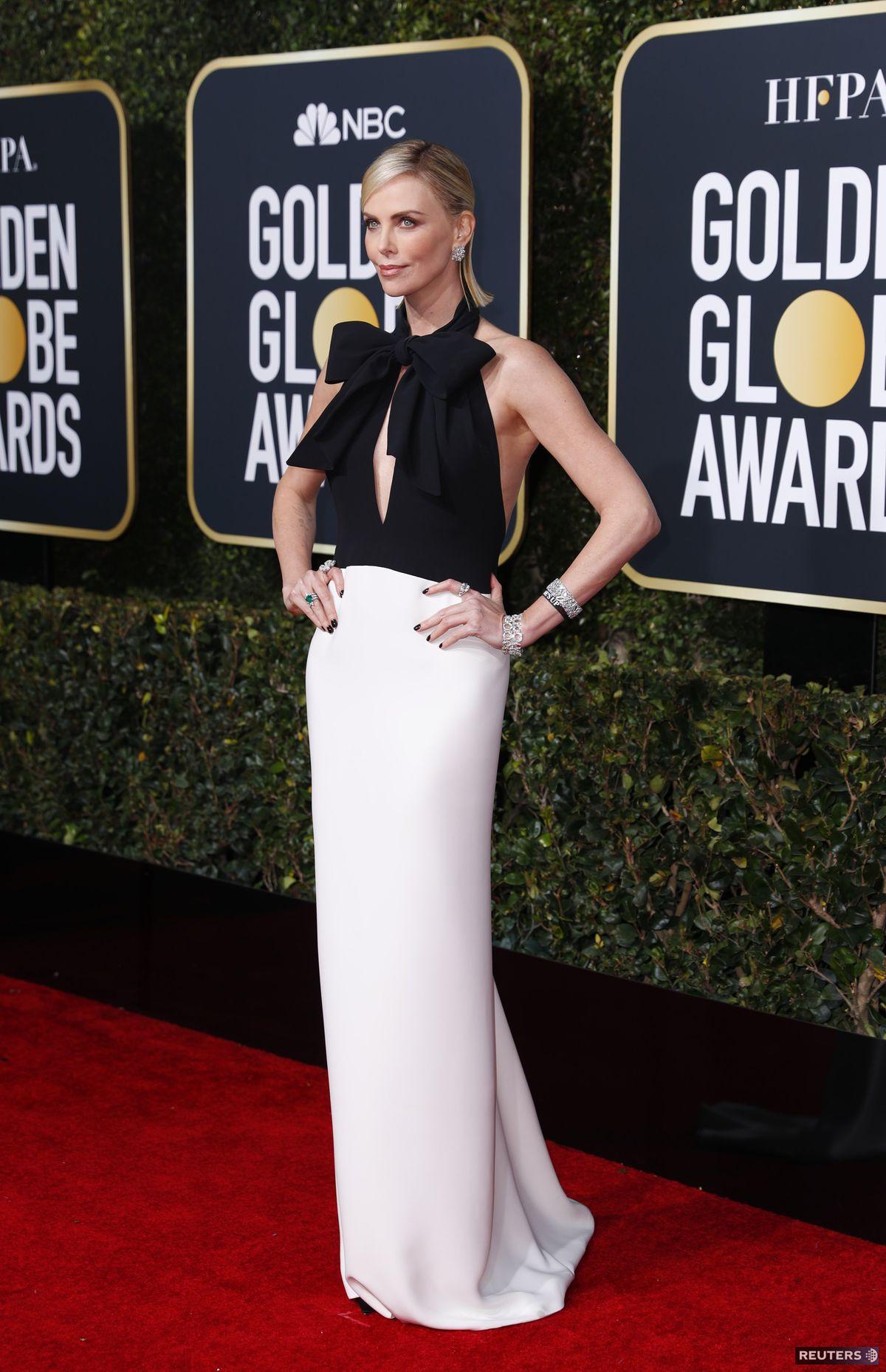 Herečka Charlize Theron prišla oblečená v...