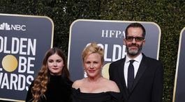 Herečka Patricia Arquette a jej rodina - dcéra Harlow Olivia Calliope Jane a partner Eric White.