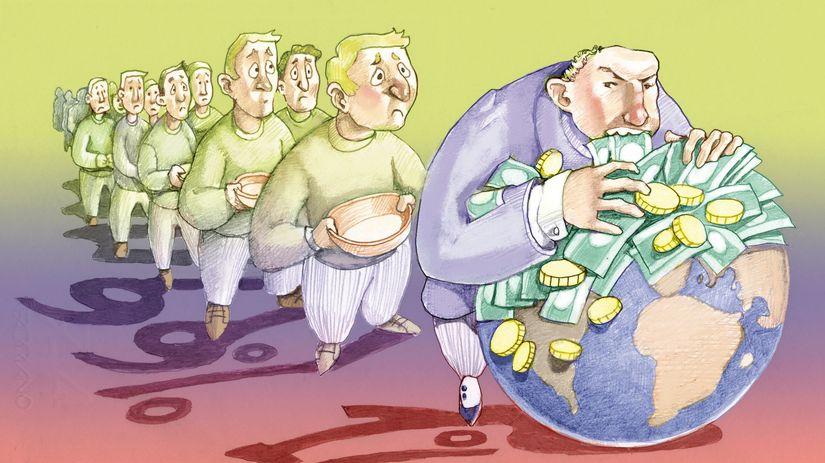 peniaze, bohatstvo, príjem, mzda, plat, dávka,...