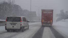 Bratislava počasie sneh doprava diaľnica D2