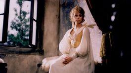 Herečka Jana Nagyová ako princezná Arabela.