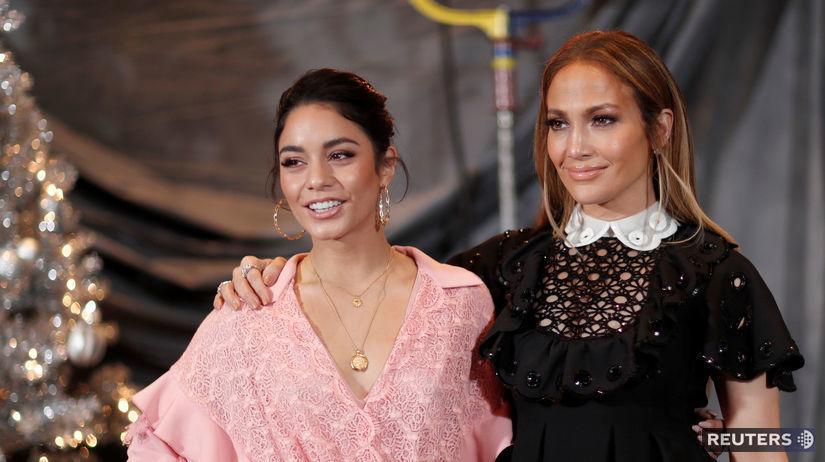Herečky Jennifer Lopez (vpravo) a Vanessa...