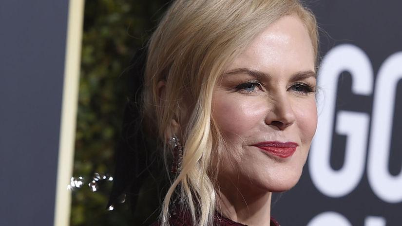 najlepšie účesy zrelých žien - Nicole Kidman