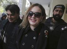 Pakistan tereza Hlůšková súd vypočúvanie, polícia